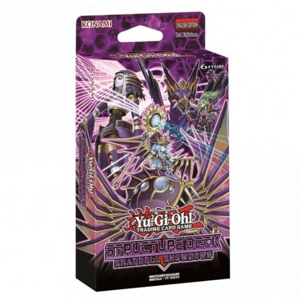 YuGiOh Structure Deck SHADDOLL SHOWDOWN